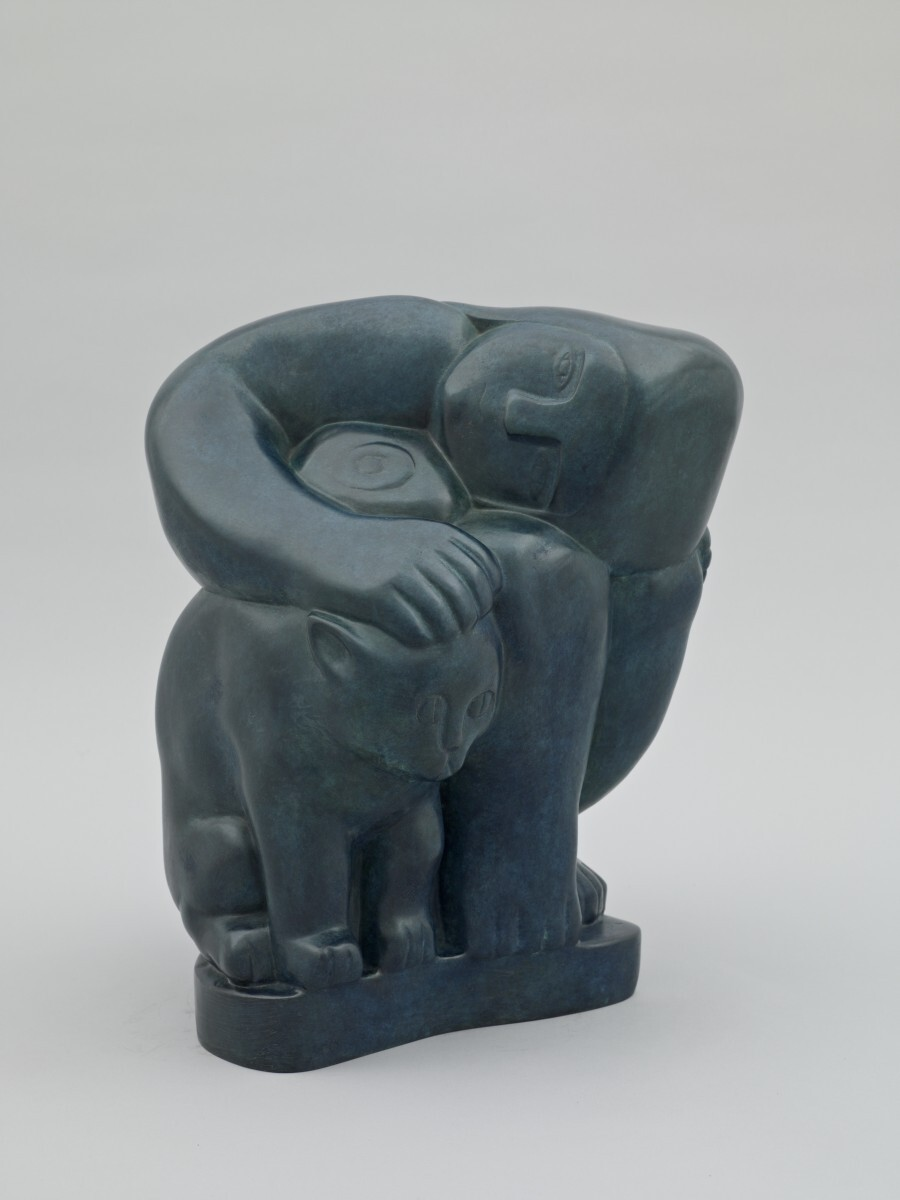 Alexander Archipenko - Woman with Cat 1/2
