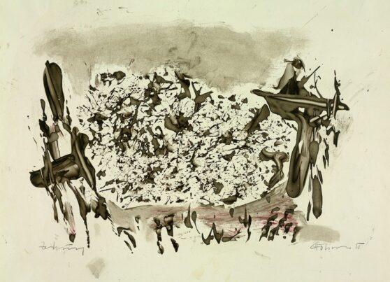 Gerhard Hoehme - Zeichnung