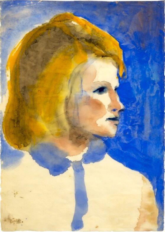 Emil Nolde - Young Frisian Girl