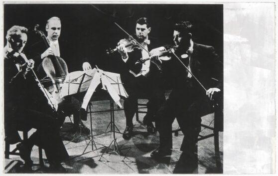 Gerhard Merz - Streichquartett
