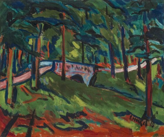Erich Heckel - Park Landscape 1/3