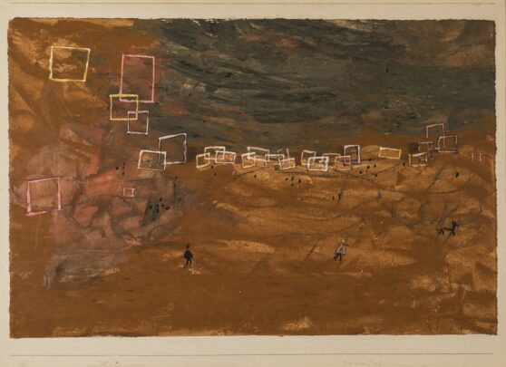 Paul Klee - Desert Village 1/3