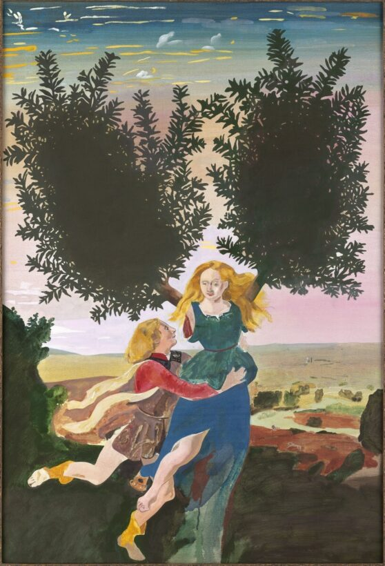 Peter Blake - After Pollaiuolo's 'Apollo and Daphne 1/3