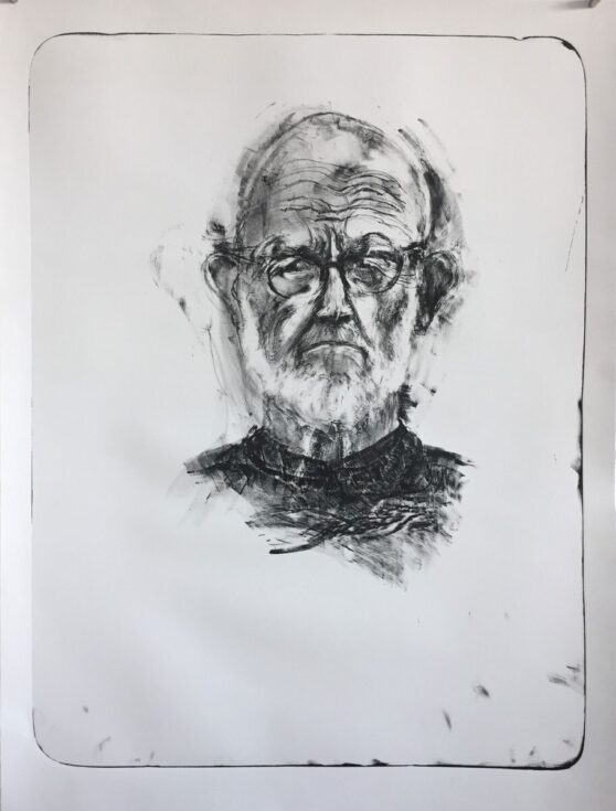 Jim Dine - Self-Portrait 1