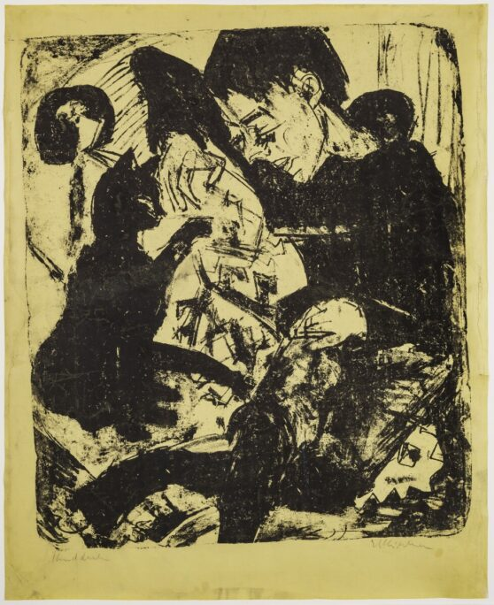 Ernst Ludwig Kirchner - Knabe mit Katze