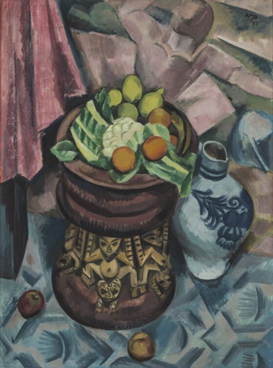 Max Pechstein - Still Life in Grey