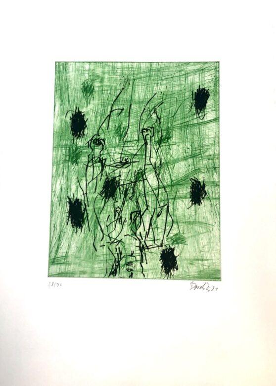 Georg Baselitz - Zwei Fäuste