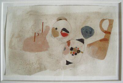 Julius Bissier - A. 30. Aug. 64