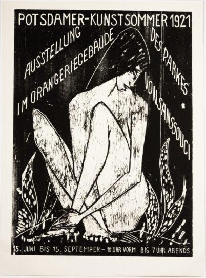 Otto Mueller - Potsdamer Kunstsommer 1921 - Große Sitzende