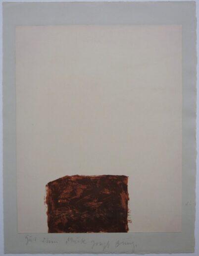 Joseph Beuys - Suite Schwurhand - Wandernde Kiste 4