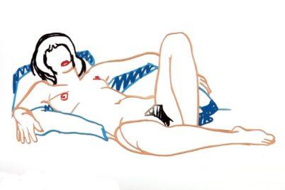 Tom Wesselmann - Monica Lying on Blanket 1/2