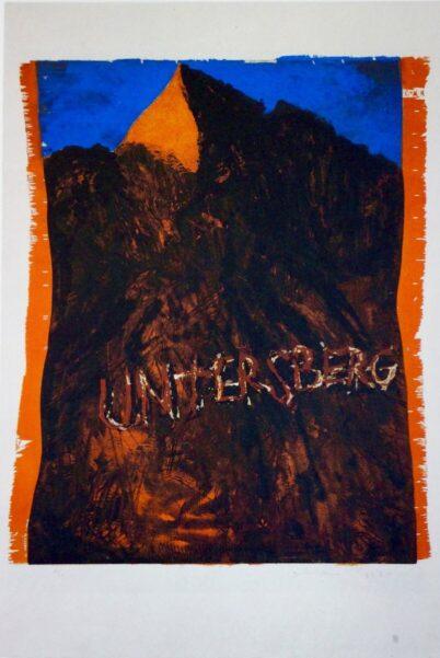 Jim Dine - Untersberg, 4 Uhr nachmittags