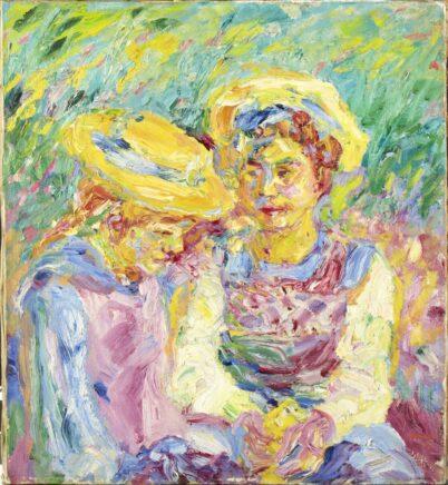 Emil Nolde - Stine und Mathilde